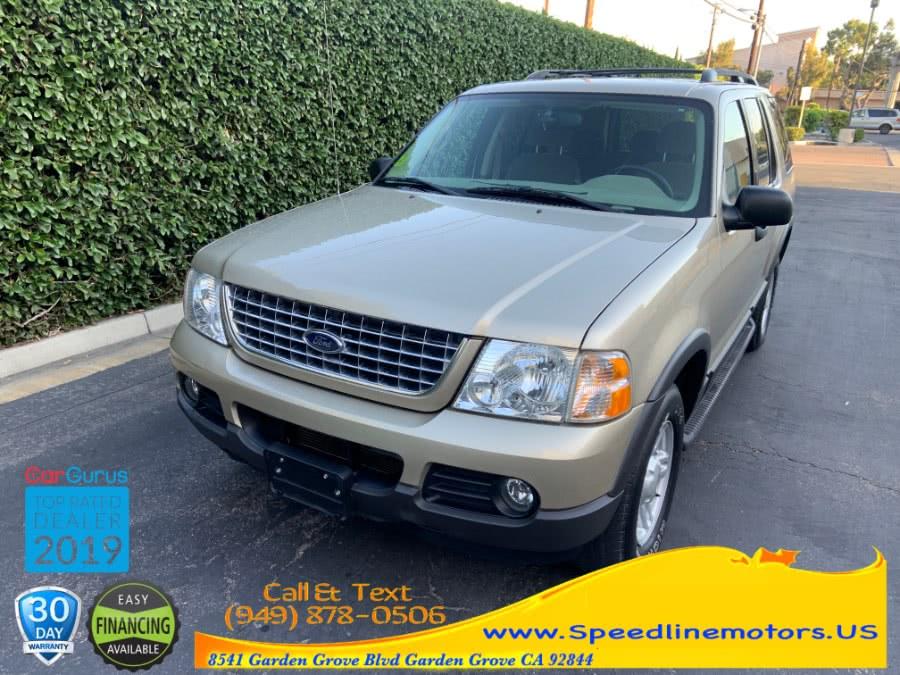 Used 2003 Ford Explorer in Garden Grove, California   Speedline Motors. Garden Grove, California