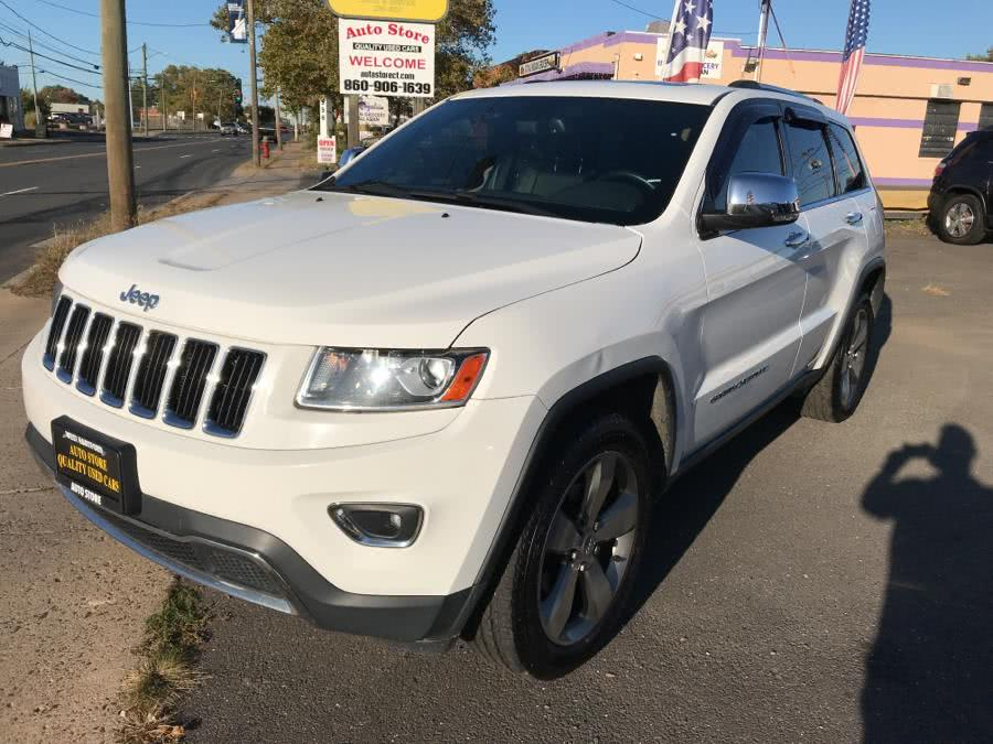Used Jeep Grand Cherokee 4WD 4dr Limited 2014 | Auto Store. West Hartford, Connecticut
