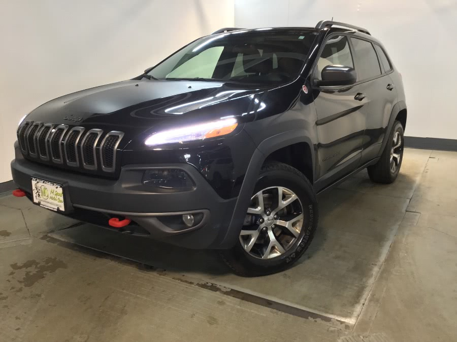 Used Jeep Cherokee 4WD 4dr Trailhawk 2015 | European Auto Expo. Lodi, New Jersey