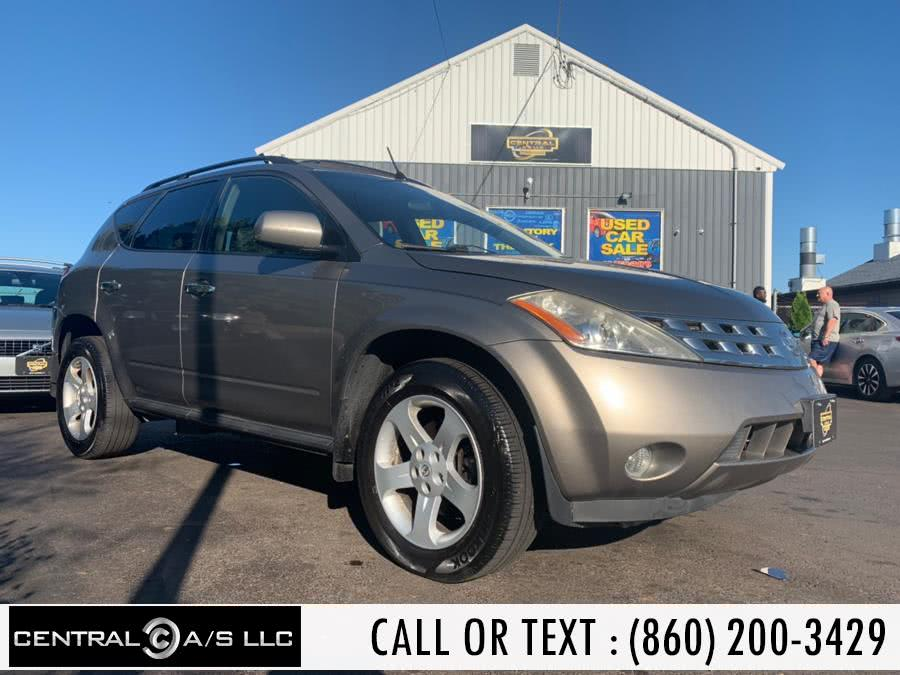 Used Nissan Murano 4dr SL AWD V6 2004 | Central A/S LLC. East Windsor, Connecticut