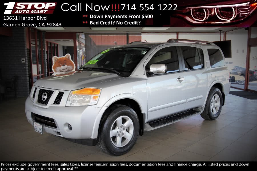 Used 2010 Nissan Armada in Garden Grove, California | 1 Stop Auto Mart Inc.. Garden Grove, California