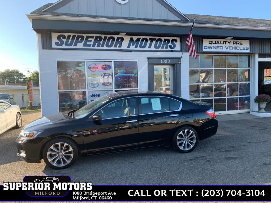 Used 2015 Honda Accord Sedan SE in Milford, Connecticut | Superior Motors LLC. Milford, Connecticut