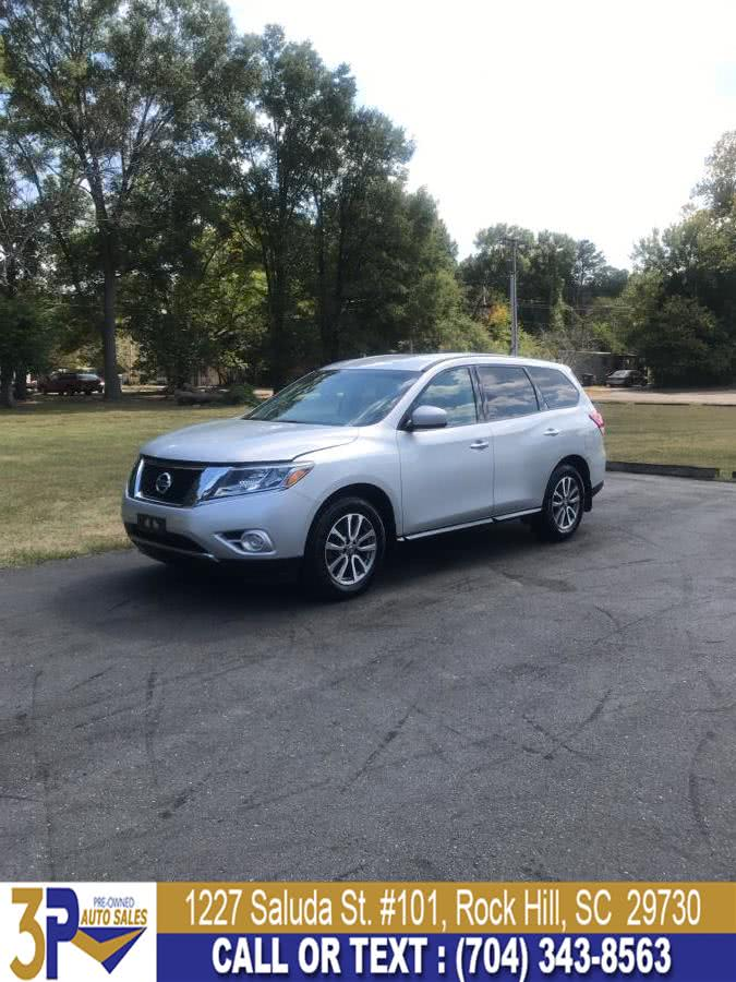 2014 Nissan Pathfinder 4WD 4dr SV, available for sale in Rock Hill, South Carolina | 3 Points Auto Sales. Rock Hill, South Carolina