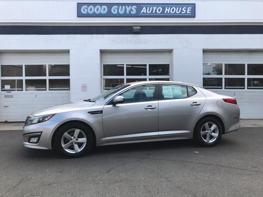 2015 Kia Optima 4dr Sdn LX, available for sale in Southington, CT