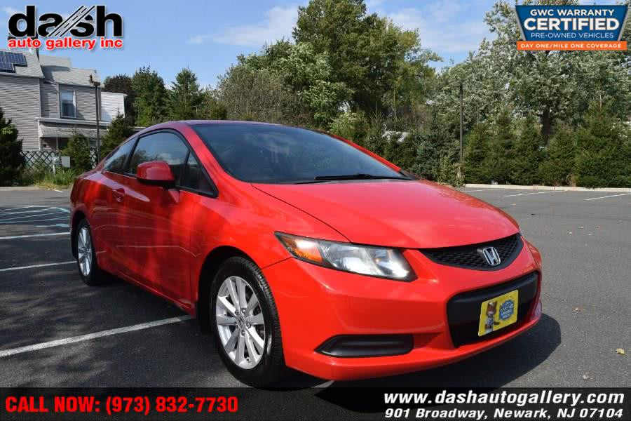 Used 2012 Honda Civic Cpe in Newark, New Jersey | Dash Auto Gallery Inc.. Newark, New Jersey