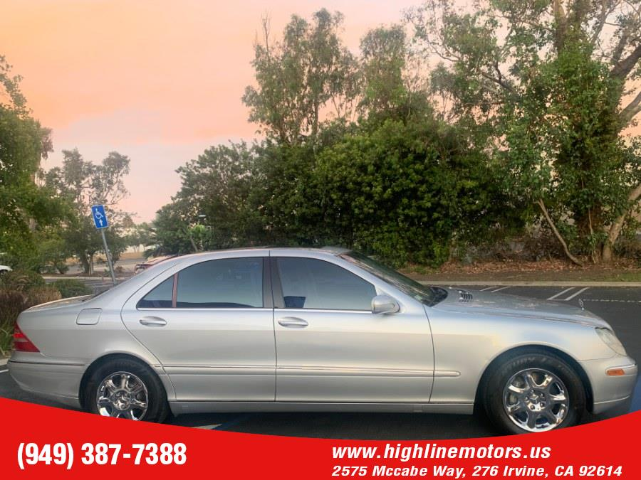 2002 Mercedes-Benz S430 4dr Sdn 4.3L, available for sale in Irvine, California | High Line Motors LLC. Irvine, California