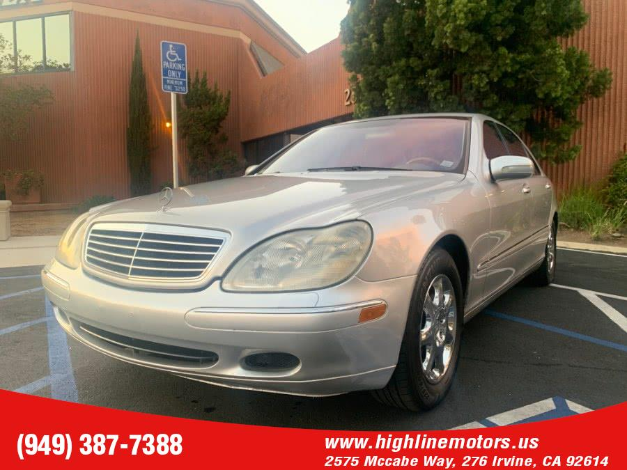 Used 2002 Mercedes-Benz S430 in Irvine, California | High Line Motors LLC. Irvine, California