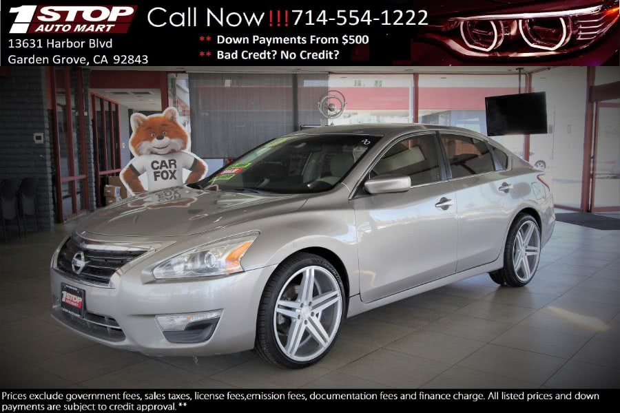 Used 2013 Nissan Altima in Garden Grove, California | 1 Stop Auto Mart Inc.. Garden Grove, California