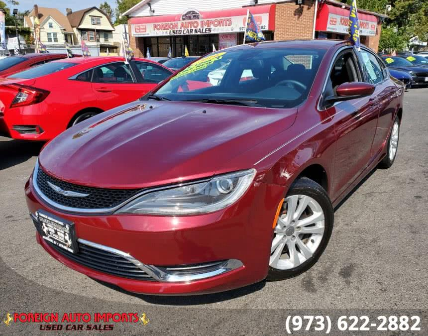 Used Chrysler 200 4dr Sdn Limited FWD 2016 | Foreign Auto Imports. Irvington, New Jersey