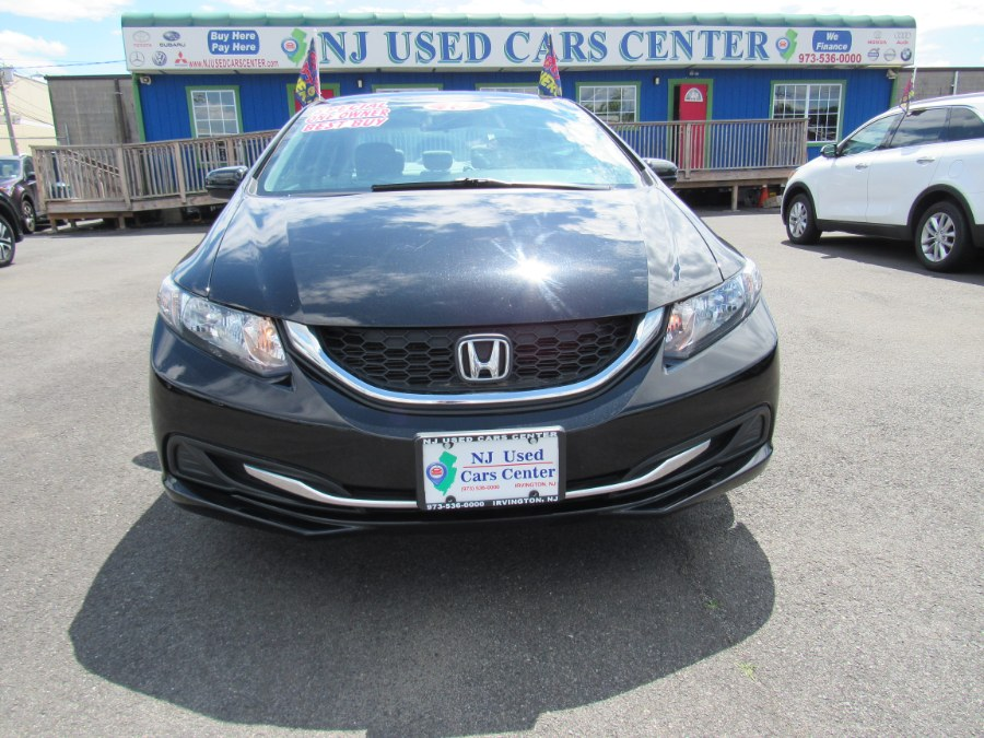 2015 Honda Civic 4dr CVT EX-L, available for sale in Irvington, New Jersey | NJ Used Cars Center. Irvington, New Jersey