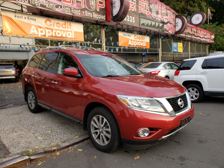 2016 Nissan Pathfinder 4WD 4dr S, available for sale in Brooklyn, New York | Rubber Bros Auto World. Brooklyn, New York