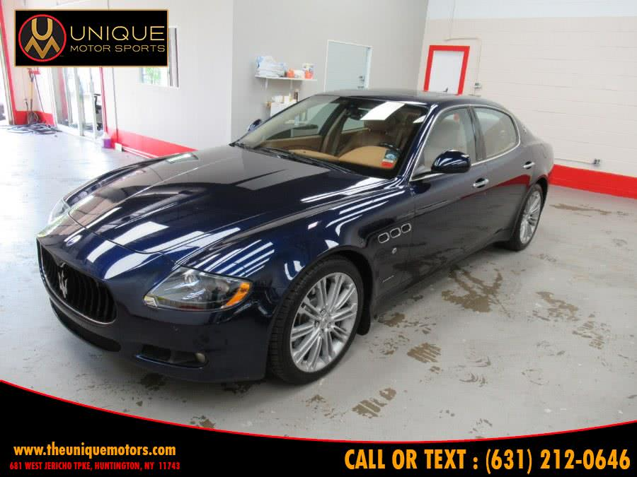 Used 2012 Maserati Quattroporte in Huntington, New York | Unique Motor Sports. Huntington, New York