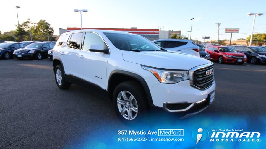 Used 2017 GMC Acadia in Medford, Massachusetts | Inman Motors Sales. Medford, Massachusetts
