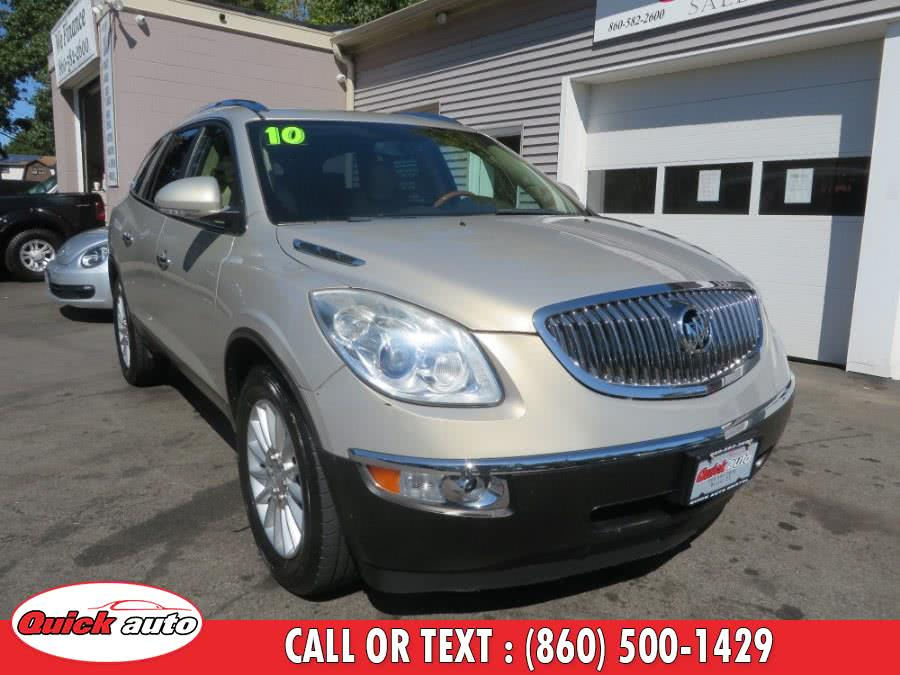 Used 2010 Buick Enclave in Bristol, Connecticut | Quick Auto LLC. Bristol, Connecticut