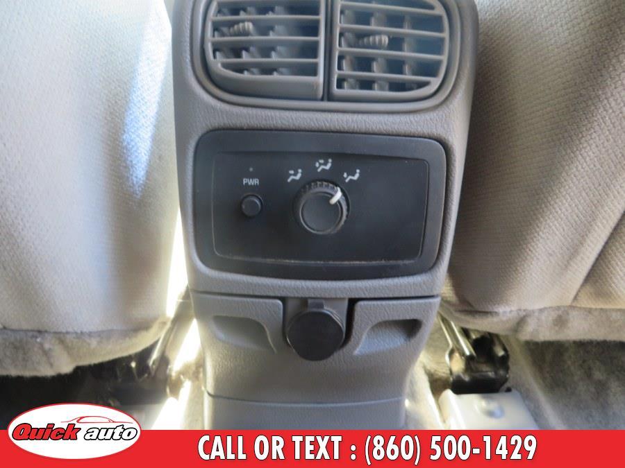 2007 Chevrolet TrailBlazer 4WD 4dr LS, available for sale in Bristol, Connecticut | Quick Auto LLC. Bristol, Connecticut
