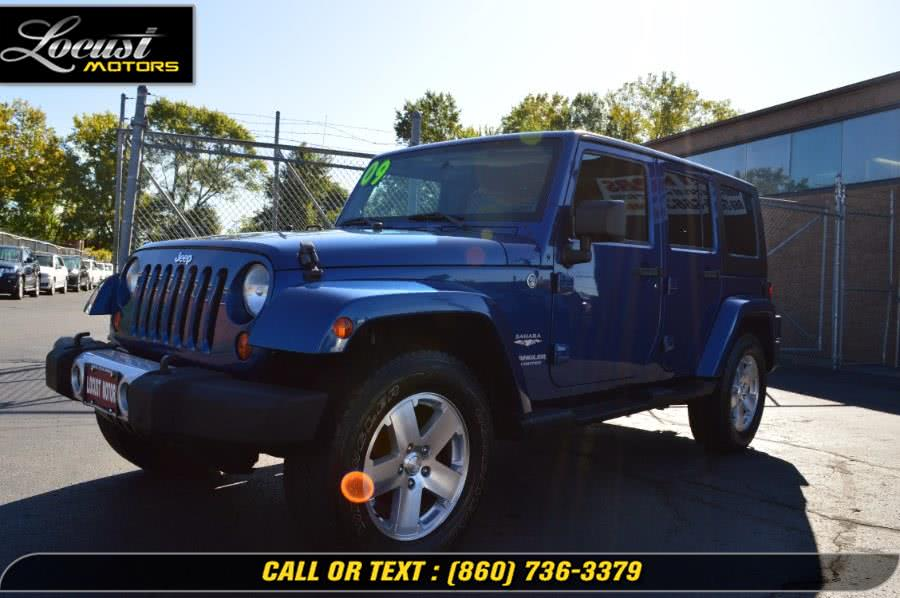 Used 2009 Jeep Wrangler Unlimited in Hartford, Connecticut | Locust Motors LLC. Hartford, Connecticut