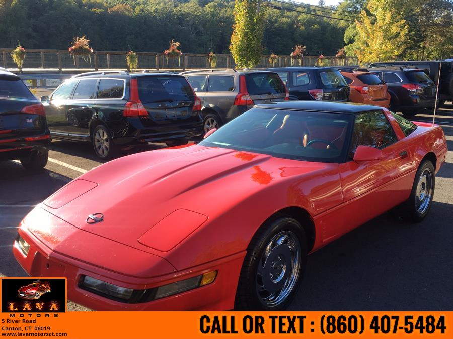 Used Chevrolet Corvette 2dr Coupe 1995 | Lava Motors. Canton, Connecticut