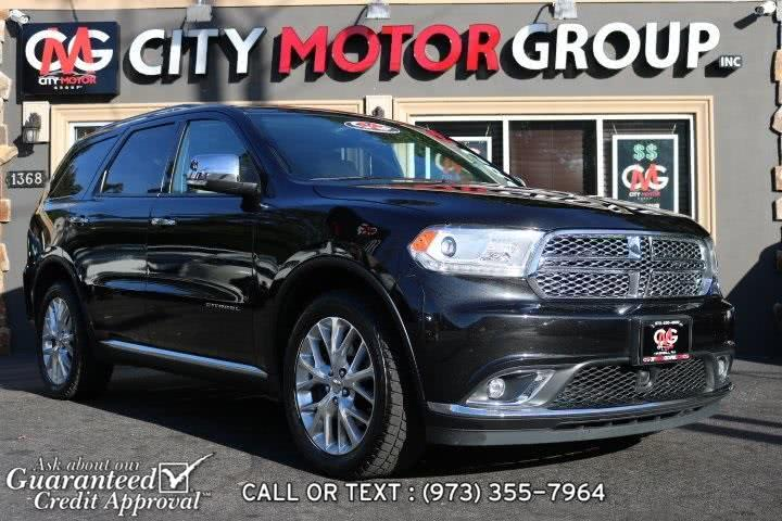 Used 2015 Dodge Durango in Haskell, New Jersey | City Motor Group Inc.. Haskell, New Jersey