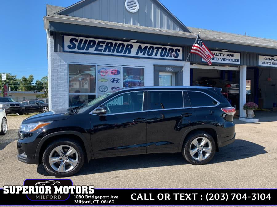 Used 2015 Toyota Highlander LTD in Milford, Connecticut | Superior Motors LLC. Milford, Connecticut