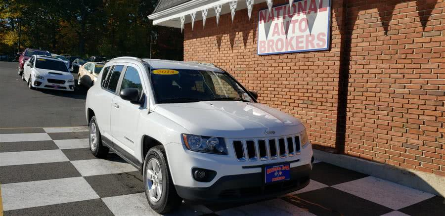 Used Jeep Compass FWD 4dr Sport 2014 | National Auto Brokers, Inc.. Waterbury, Connecticut