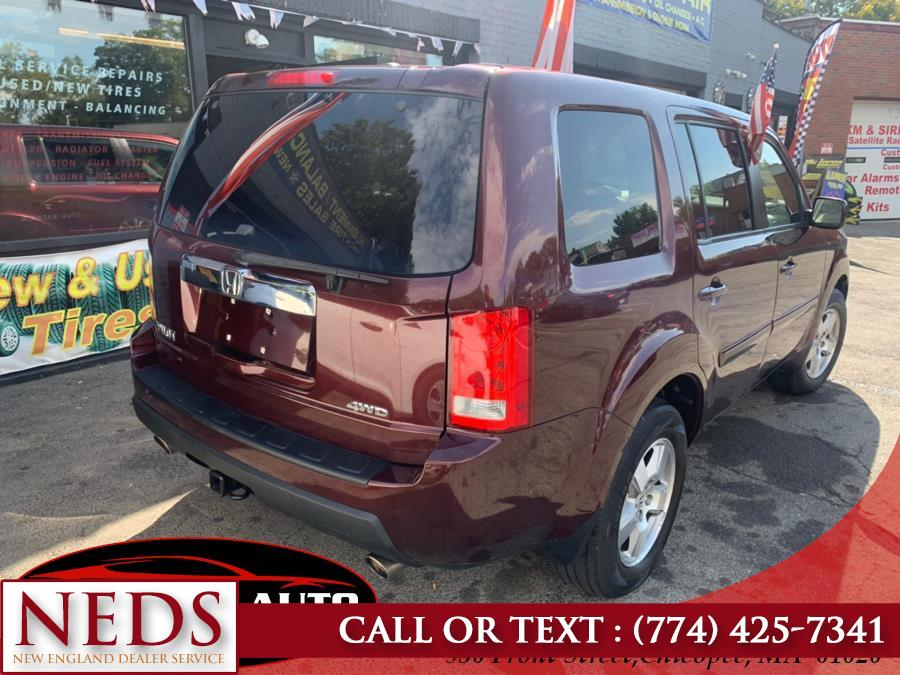 2011 Honda Pilot 4WD 4dr EX-L, available for sale in Indian Orchard, Massachusetts | New England Dealer Services. Indian Orchard, Massachusetts