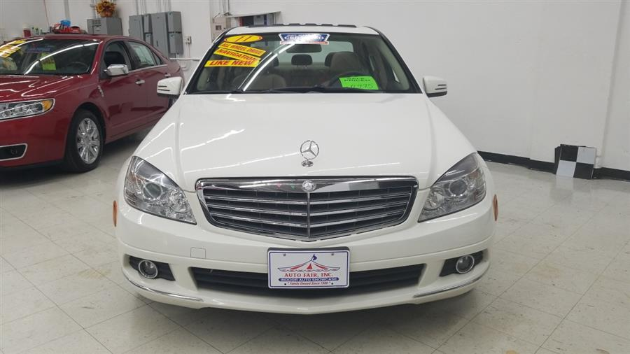 2011 Mercedes-Benz C-Class 4dr Sdn C300 Luxury 4MATIC, available for sale in West Haven, CT