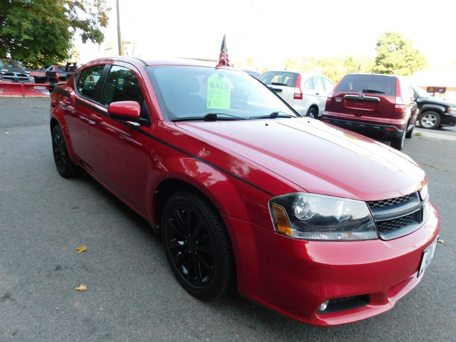 2013 Dodge Avenger 4dr Sdn SXT, available for sale in Watertown, Connecticut | Watertown Auto Sales. Watertown, Connecticut