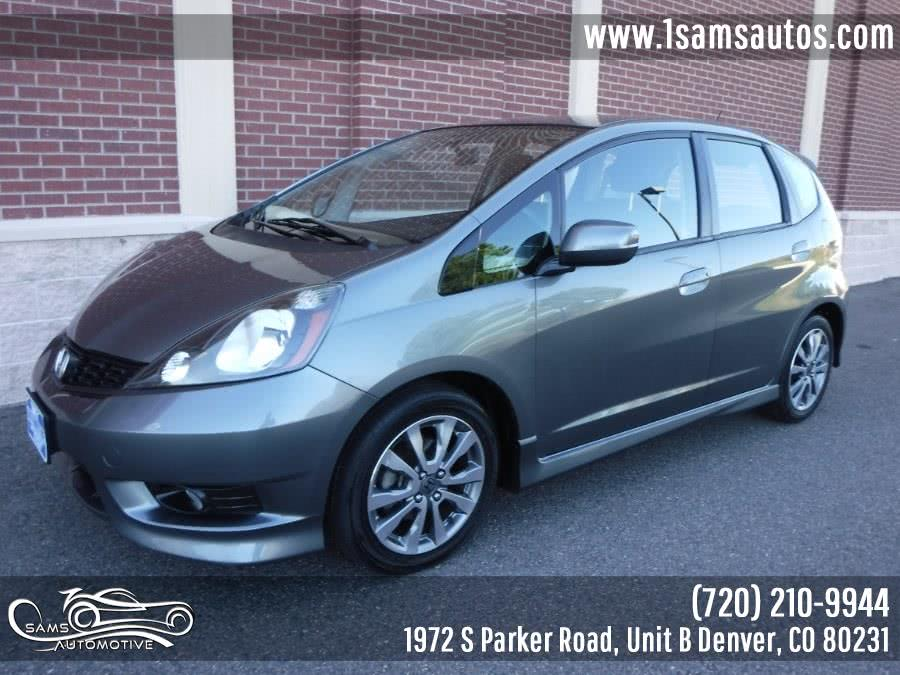 Used 2013 Honda Fit in Denver, Colorado | Sam's Automotive. Denver, Colorado