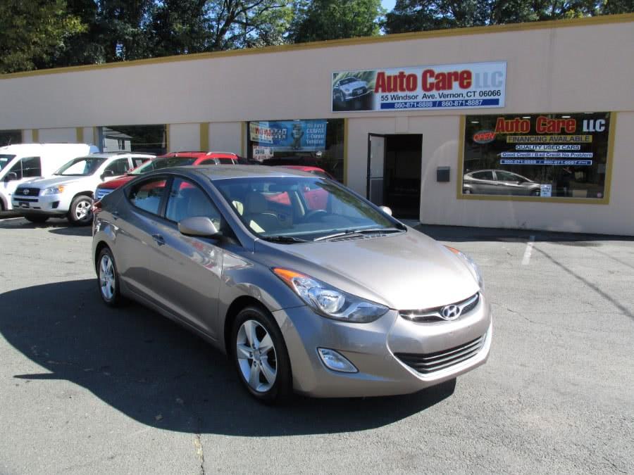 Used 2012 Hyundai Elantra in Vernon , Connecticut | Auto Care Motors. Vernon , Connecticut