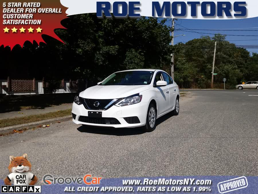 Used Nissan Sentra SV CVT 2019 | Roe Motors Ltd. Shirley, New York