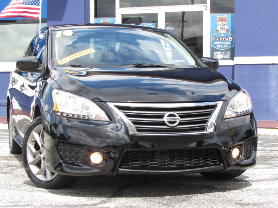 Used Nissan Sentra 4dr Sdn I4 CVT SV 2014 | VIP Auto Enterprise, Inc. Orlando, Florida
