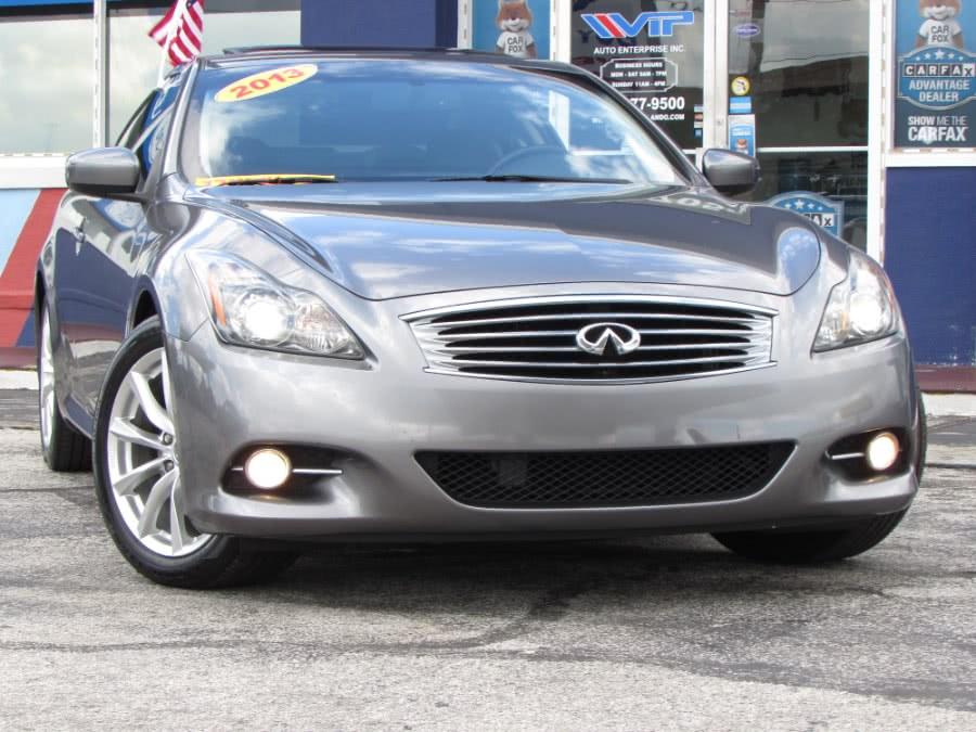 Used INFINITI G37 Coupe 2dr PREMIUM RWD 2013 | VIP Auto Enterprise, Inc. Orlando, Florida