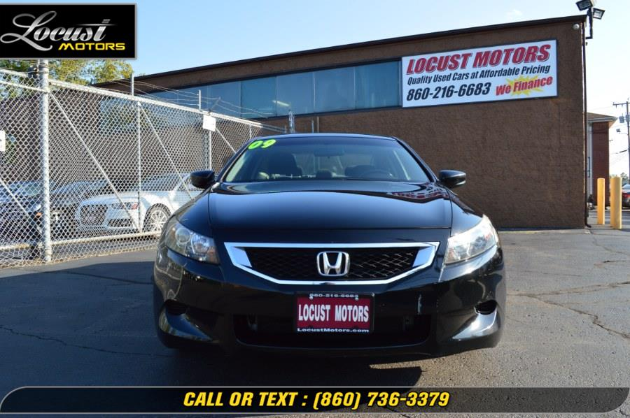 2009 Honda Accord Cpe 2dr I4 Auto EX PZEV, available for sale in Hartford, Connecticut | Locust Motors LLC. Hartford, Connecticut