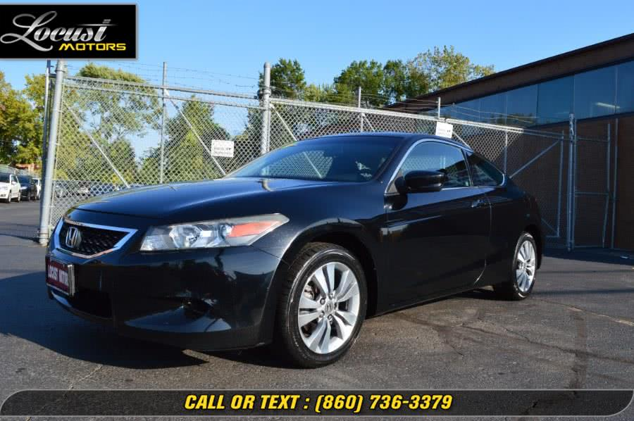 Used 2009 Honda Accord Cpe in Hartford, Connecticut | Locust Motors LLC. Hartford, Connecticut