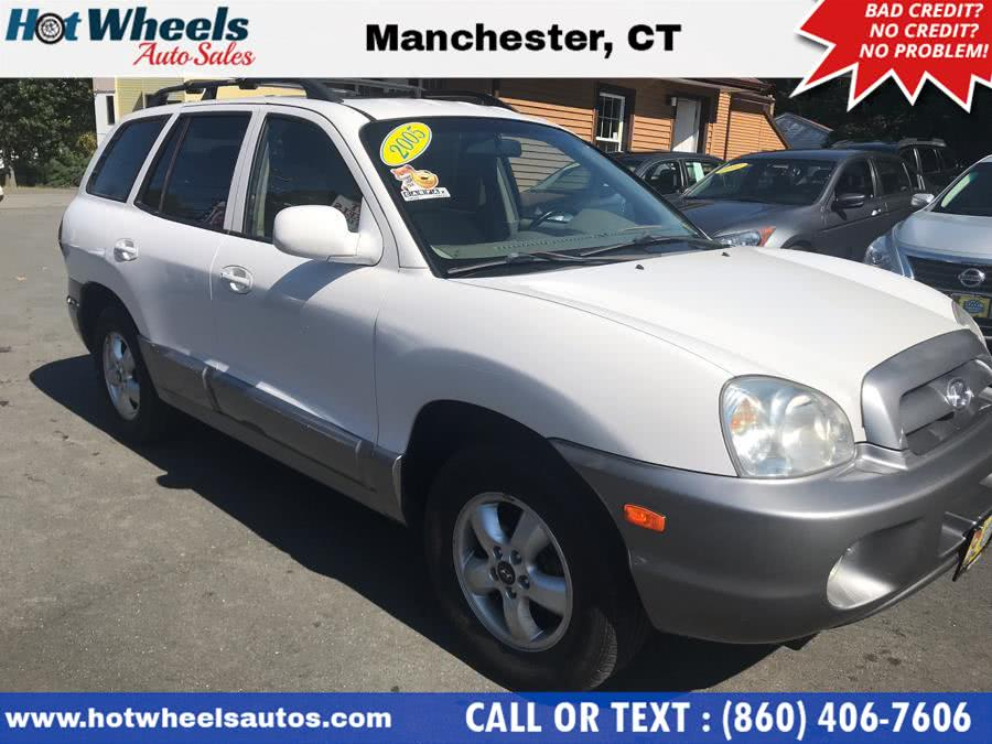 Used 2005 Hyundai Santa Fe in Manchester, Connecticut | Hot Wheels Auto Sales LLC. Manchester, Connecticut