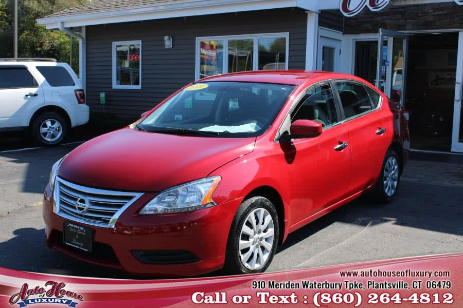 Used 2013 Nissan Sentra in Plantsville, Connecticut | Auto House of Luxury. Plantsville, Connecticut