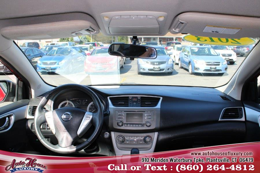 2013 Nissan Sentra 4dr Sdn I4 CVT SV, available for sale in Plantsville, Connecticut | Auto House of Luxury. Plantsville, Connecticut