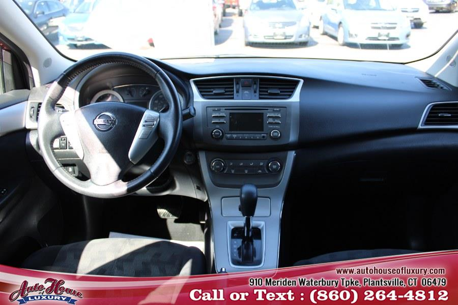 Used Nissan Sentra 4dr Sdn I4 CVT SV 2013 | Auto House of Luxury. Plantsville, Connecticut