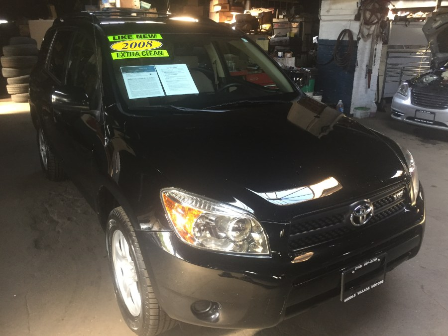 2008 Toyota RAV4 4WD 4dr V6 5-Spd AT (Natl), available for sale in Middle Village, New York | Middle Village Motors . Middle Village, New York