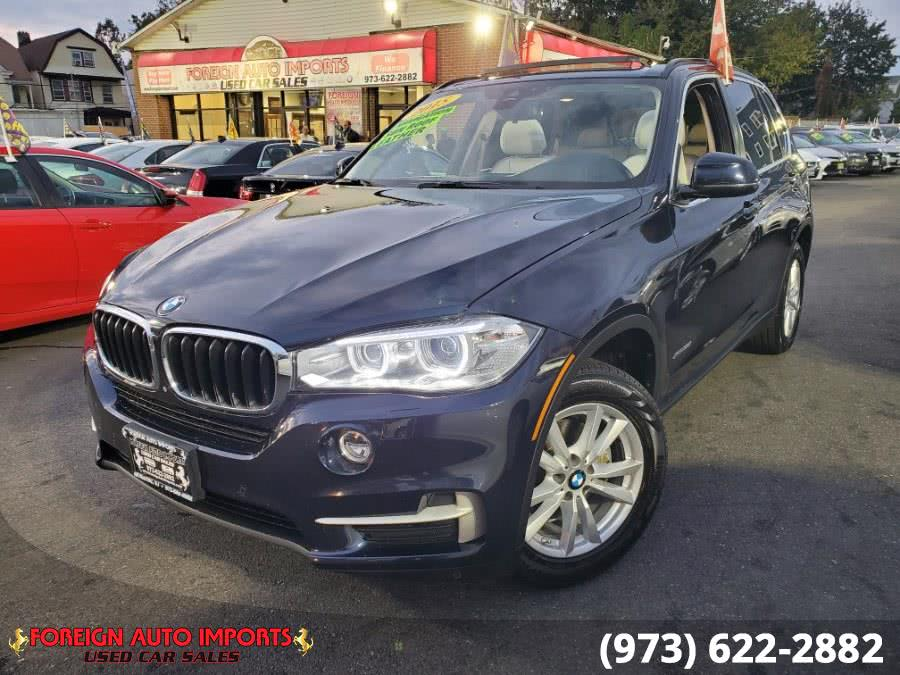 Used BMW X5 AWD 4dr xDrive35i 2015 | Foreign Auto Imports. Irvington, New Jersey