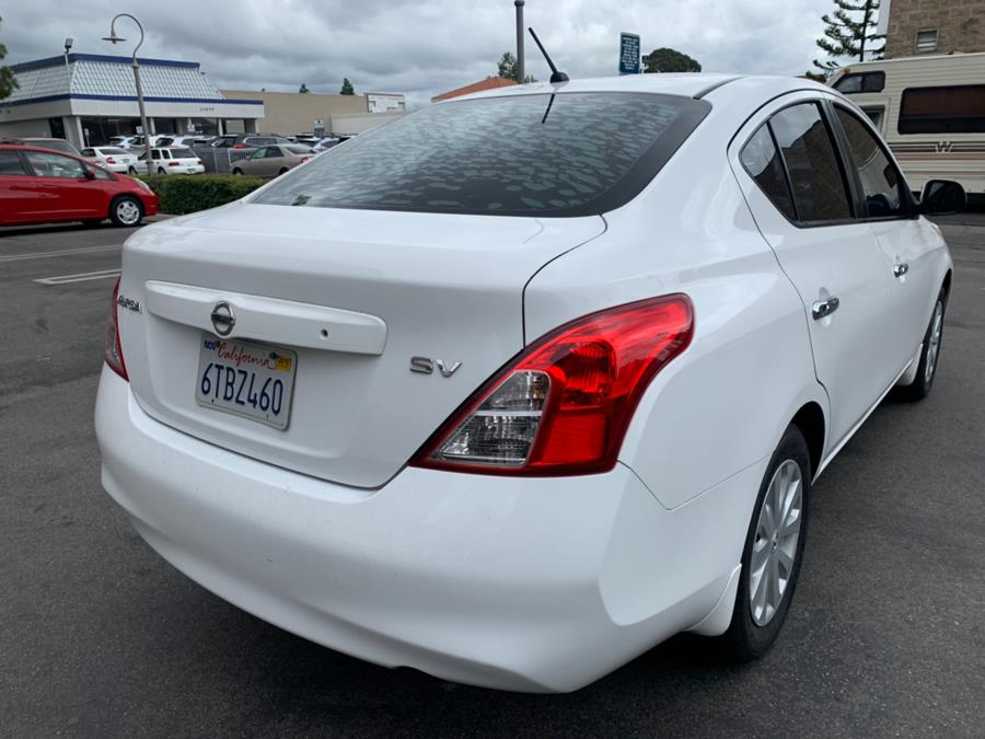 2012 Nissan Versa 4dr Sdn CVT 1.6 SV, available for sale in Lake Forest, California | Carvin OC Inc. Lake Forest, California