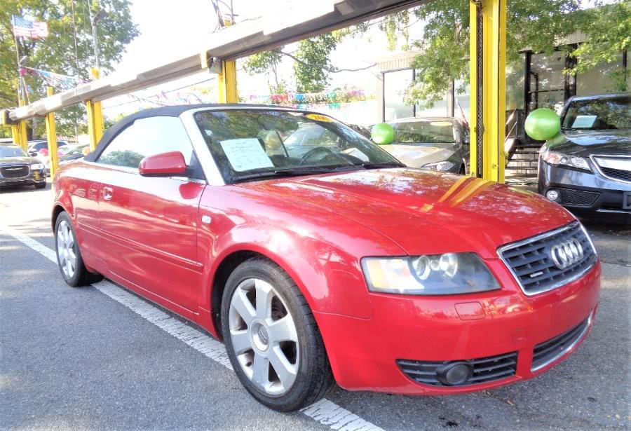 Used Audi A4 2005 2dr Cabriolet 3.0L quattr 2005 | Sunrise Auto Sales. Rosedale, New York