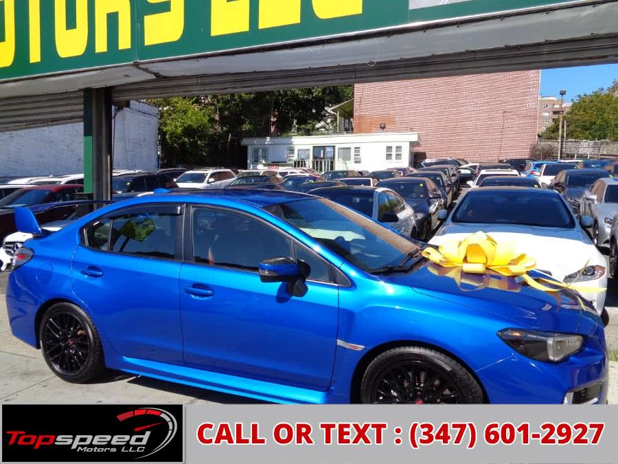 Used 2015 Subaru WRX STI AWD Manual in Jamaica, New York | Top Speed Motors LLC. Jamaica, New York