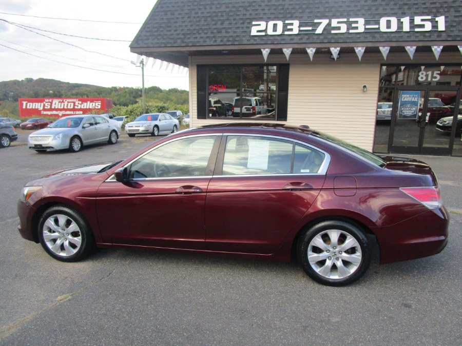2010 Honda Accord Sdn 4dr I4 Auto EX-L, available for sale in Waterbury, Connecticut | Tony's Auto Sales. Waterbury, Connecticut