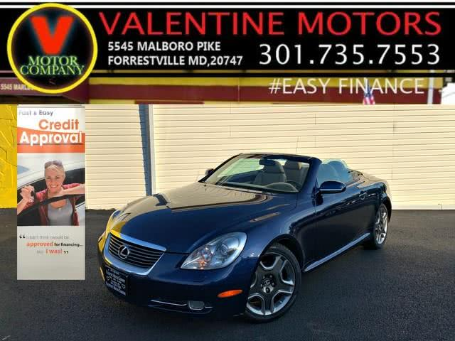 Used 2006 Lexus Sc 430 in Forestville, Maryland | Valentine Motor Company. Forestville, Maryland