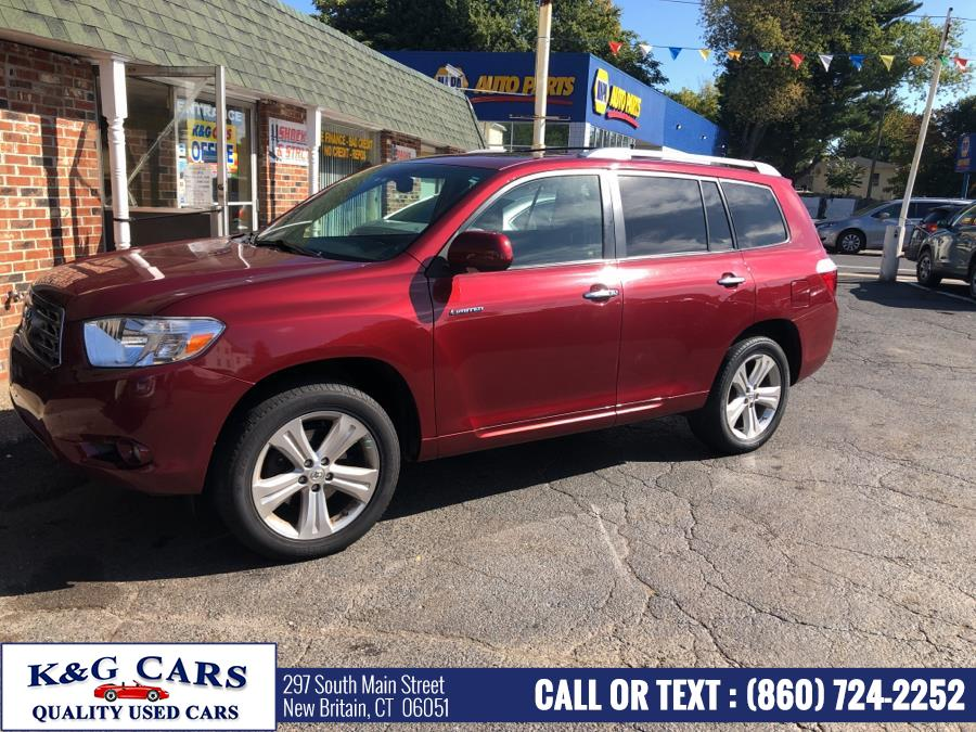 Used Toyota Highlander 4WD 4dr Limited 2008 | K and G Cars . New Britain, Connecticut