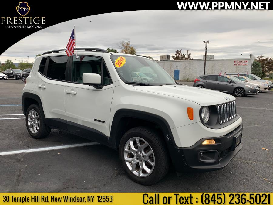 Used Jeep Renegade 4WD 4dr Latitude 2015   Prestige Pre-Owned Motors Inc. New Windsor, New York