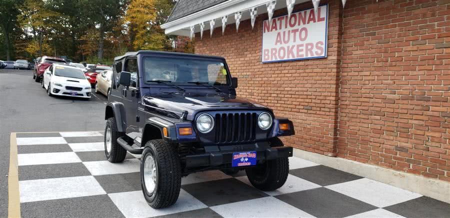Used Jeep Wrangler 2dr Convertible 1999 | National Auto Brokers, Inc.. Waterbury, Connecticut