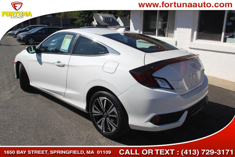 2016 Honda Civic Coupe 2dr CVT EX-T, available for sale in Springfield, Massachusetts | Fortuna Auto Sales Inc.. Springfield, Massachusetts