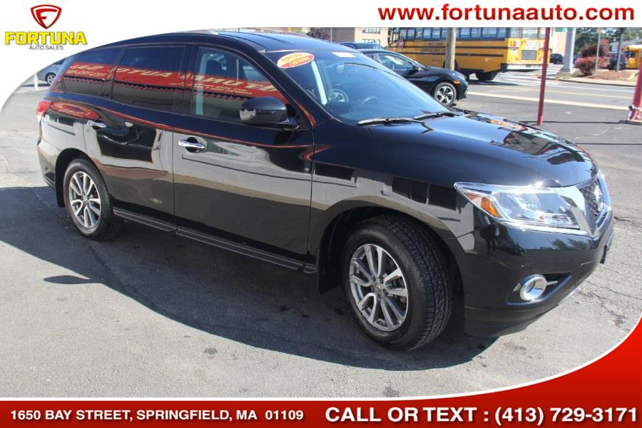 Used Nissan Pathfinder 4WD 4dr SV 2015 | Fortuna Auto Sales Inc.. Springfield, Massachusetts